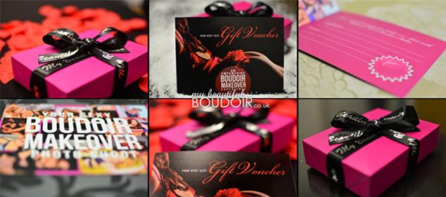 boudoir gift voucher studio