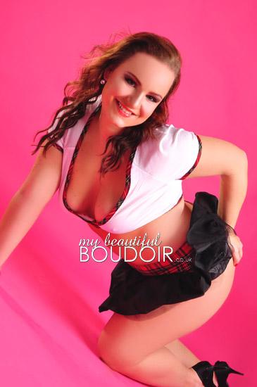 boudoir makeover shoot